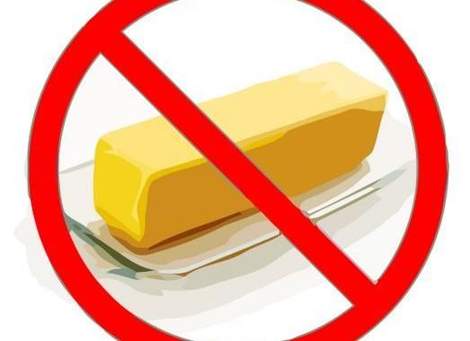 no butter